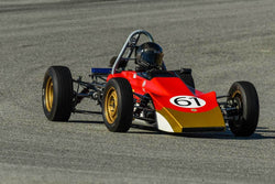 Jonathan Kitchen - 1969 Lotus 61 in Group 2 - Crossfolw Formula Ford at the 2018 HMSA Spring Club Event run at Mazda Raceway Laguna Seca