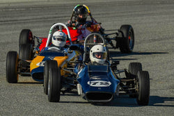 Chris Schoap - 1970 Titan FF Mark VI in Group 2 - Crossfolw Formula Ford at the 2018 HMSA Spring Club Event run at Mazda Raceway Laguna Seca