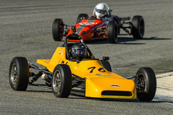 Dan Wise - 1973 Crossle 25F in Group 2 - Crossfolw Formula Ford at the 2018 HMSA Spring Club Event run at Mazda Raceway Laguna Seca