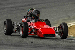 Jack Wilson -  Winkelman WDF3 in Group 2 - Crossfolw Formula Ford at the 2018 HMSA Spring Club Event run at Mazda Raceway Laguna Seca