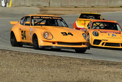 Dave Stone - 1973 Datsun 260Z in Group 3 -  at the 2018 HMSA Spring Club Event run at Mazda Raceway Laguna Seca