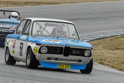 Steve Walker - 1971 BMW 2002 in Group 4 -  at the 2018 HMSA Spring Club Event run at Mazda Raceway Laguna Seca