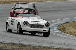 Michael Sweeney - 1965 Datsun Fairlady Roadster in Group 4 -  at the 2018 HMSA Spring Club Event run at Mazda Raceway Laguna Seca