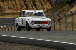 Edward Lauber - 1967 Alfa Romeo Giulia Super in Group 4 -  at the 2018 HMSA Spring Club Event run at Mazda Raceway Laguna Seca