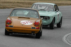 Mario Musto - 1967 Porsche 912 Coupe in Group 4 -  at the 2018 HMSA Spring Club Event run at Mazda Raceway Laguna Seca