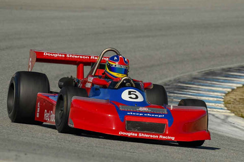 Steve Romak - 1980 March 80A FA in Group 6 -  at the 2018 HMSA Spring Club Event run at Mazda Raceway Laguna Seca
