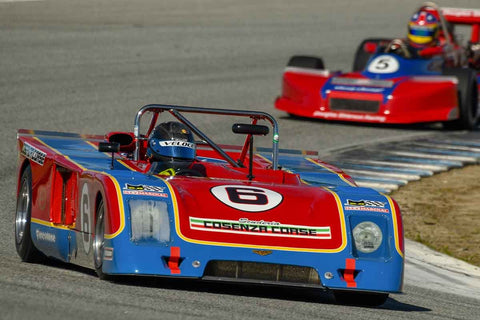Danny Baker - 1974 Chevron B23 in Group 6 -  at the 2018 HMSA Spring Club Event run at Mazda Raceway Laguna Seca