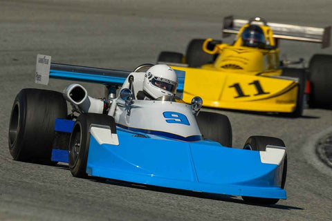 Carl Moore - 1976 March 76B in Group 6 -  at the 2018 HMSA Spring Club Event run at Mazda Raceway Laguna Seca