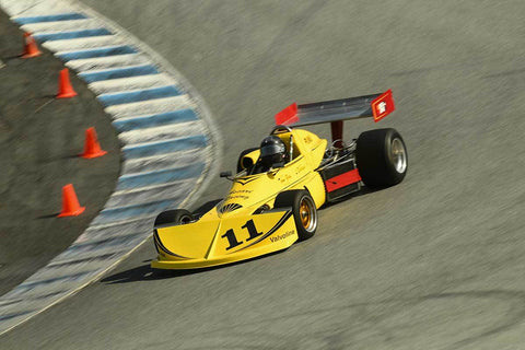 Larry Savage - 1976 March 76B in Group 6 -  at the 2018 HMSA Spring Club Event run at Mazda Raceway Laguna Seca