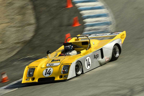Steve Cook - 1978 Chevron B36 in Group 6 -  at the 2018 HMSA Spring Club Event run at Mazda Raceway Laguna Seca