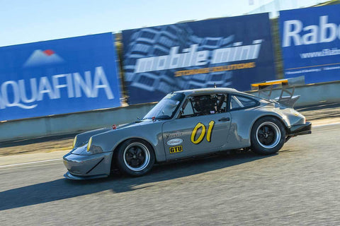 Martin Brauns -  Porsche 911 in Group PRC - Porsche Racing Club at the 2018 HMSA Spring Club Event run at Mazda Raceway Laguna Seca