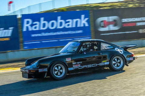 Sean Van Gelder - 1986 Porsche 911 in Group PRC - Porsche Racing Club at the 2018 HMSA Spring Club Event run at Mazda Raceway Laguna Seca