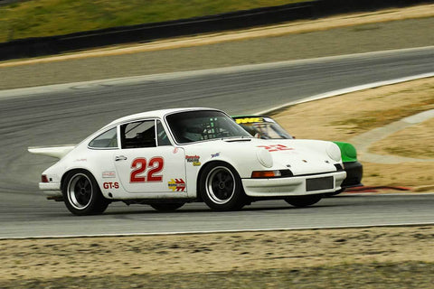 Maurice Montgomery - 1972 Porscghe 911 in Group PRC - Porsche Racing Club at the 2018 HMSA Spring Club Event run at Mazda Raceway Laguna Seca
