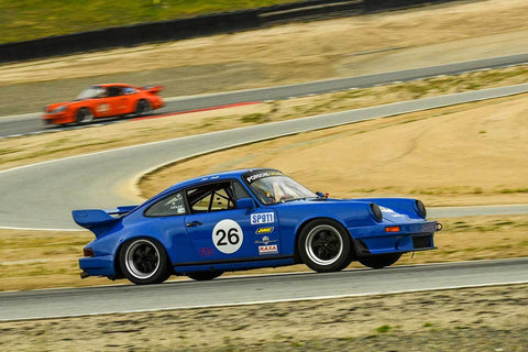 Richard Smith Allen - 1981 Porsche 911 in Group PRC - Porsche Racing Club at the 2018 HMSA Spring Club Event run at Mazda Raceway Laguna Seca