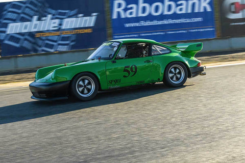 Mike Cullinan - 1977 Porsche 911 in Group PRC - Porsche Racing Club at the 2018 HMSA Spring Club Event run at Mazda Raceway Laguna Seca