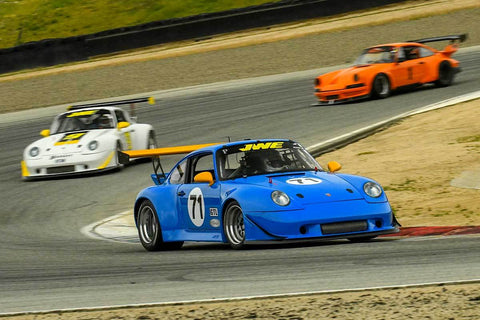 Paul Camusi - 1984 Porsche 911 in Group PRC - Porsche Racing Club at the 2018 HMSA Spring Club Event run at Mazda Raceway Laguna Seca