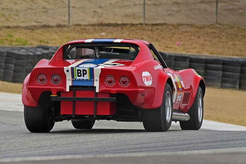 Eve Mincheff - 1969 Chevrolet Corvette in Group A - SCCA GT & IMSA RS at the 2018 SCRAMP Spring Classic run at Weathertech Raceway Laguna Seca
