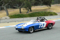 A.C. D'Augustine - 1965 Chevrolet Corvette L-88 in Group A - SCCA GT & IMSA RS at the 2018 SCRAMP Spring Classic run at Weathertech Raceway Laguna Seca