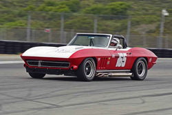 Chris Springer - 1965 Chevrolet Corvette in Group A - SCCA GT & IMSA RS at the 2018 SCRAMP Spring Classic run at Weathertech Raceway Laguna Seca
