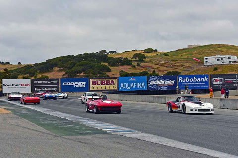 Group A - SCCA GT & IMSA RS at the 2018 SCRAMP Spring Classic run at Weathertech Raceway Laguna Seca