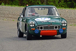 Ralph Zbarsky - 1967 MGB GT in Group 1 - Vintage Small Bore & Formula V at the 2018 SOVREN Spring Sprints run at Pacific Raceway