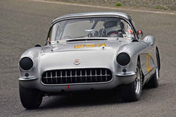 Ron Erickson - 1957 Chevrolet Corvette in Group 1 - Vintage Small Bore & Formula V at the 2018 SOVREN Spring Sprints run at Pacific Raceway