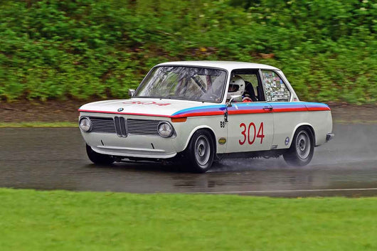 Mark Godsoe - 1968 BMW 2002 in Group 2/7a - Mid Bore Production at the 2018 SOVREN Spring Sprints run at Pacific Raceway