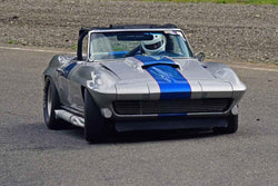 Dave Edelstein - 1963 Chevrolet Corvette in Group 3/7b - Large Bore Production at the 2018 SOVREN Spring Sprints run at Pacific Raceway