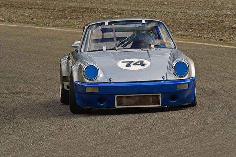 Don Benson - 1974 Porsche 911 RSR in Group 3/7b - Large Bore Production at the 2018 SOVREN Spring Sprints run at Pacific Raceway