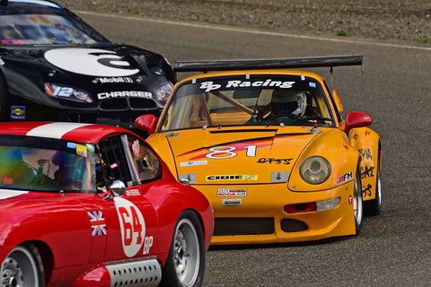 Robert Rygg - 1972 Porsche 911 in Group 3/7b - Large Bore Production at the 2018 SOVREN Spring Sprints run at Pacific Raceway