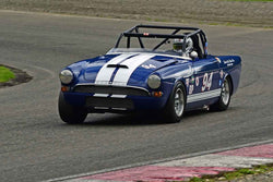 Gerald Loeffler - 1965 Sunbeam Tiger in Group 3/7b - Large Bore Production at the 2018 SOVREN Spring Sprints run at Pacific Raceway