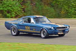 Del MacKenzie - 1965 Ford Mustang in Group 3/7b - Large Bore Production at the 2018 SOVREN Spring Sprints run at Pacific Raceway