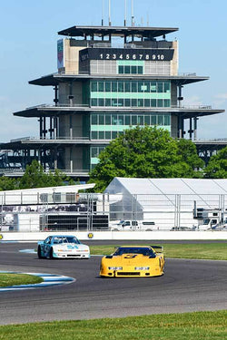Casey Putsch - 1988 Chevrolet Corvette GT1 in Group 10/12A -  at the 2018 SVRA Brickyard Vintage Racing Invitational run at Indianapolis Motor Speedway