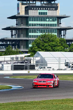Bill Elliott - 2003 Dodge Nascar Intrepid in Group 10/12A -  at the 2018 SVRA Brickyard Vintage Racing Invitational run at Indianapolis Motor Speedway