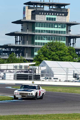 Ron Myska - 1969 Ford Talladega in Group 10/12A -  at the 2018 SVRA Brickyard Vintage Racing Invitational run at Indianapolis Motor Speedway