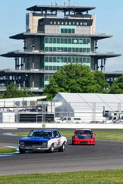 Don Yount - 1969 Chevrolet Camaro in Group 6 - Big Bore Production Sports Crs and Sedans Through 1972 at the 2018 SVRA Brickyard Vintage Racing Invitational run at Indianapolis Motor Speedway