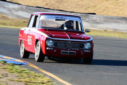 Gary Highland - 1962 Alfa Romeo Giulia TI in Group 1 - Sports and GT Cars as raced prior to 1963 at the 2018 CSRG Charity Challenge run at Sears Point Raceway