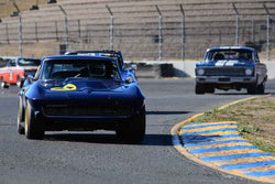 Bruce Trenery - 1964 Chevrolet Corvette in Group 3 - Large Displacement Production Sports Cars through 1967 at the 2018 CSRG Charity Challenge run at Sears Point Raceway