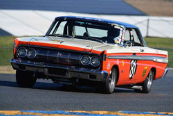 Greg Umphenour - 1964 Mercury FIA Comet in Group 3 - Large Displacement Production Sports Cars through 1967 at the 2018 CSRG Charity Challenge run at Sears Point Raceway