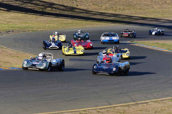 Group 4 - Small Displacement Sports Cars Racing Cars through 1967 at the 2018 CSRG Charity Challenge run at Sears Point Raceway