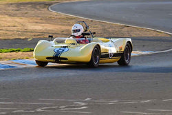 Paul Adams - 1962 Elva Mk 6 in Group 4 - Small Displacement Sports Cars Racing Cars through 1967 at the 2018 CSRG Charity Challenge run at Sears Point Raceway