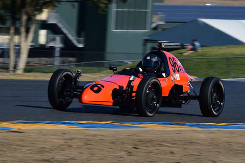 Dennis Ambayec - 1978 Lynx B in Group 5 - Formula Junior, Formula Vee, Formula B Open Wheel Cars at the 2018 CSRG Charity Challenge run at Sears Point Raceway