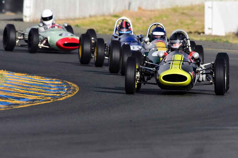 Jack Fitzpatrick - 1963 Lotus 27 in Group 5 - Formula Junior, Formula Vee, Formula B Open Wheel Cars at the 2018 CSRG Charity Challenge run at Sears Point Raceway