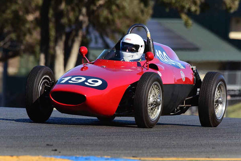 Simon Favre - 1958 Bourgeault FJ in Group 5 - Formula Junior, Formula Vee, Formula B Open Wheel Cars at the 2018 CSRG Charity Challenge run at Sears Point Raceway