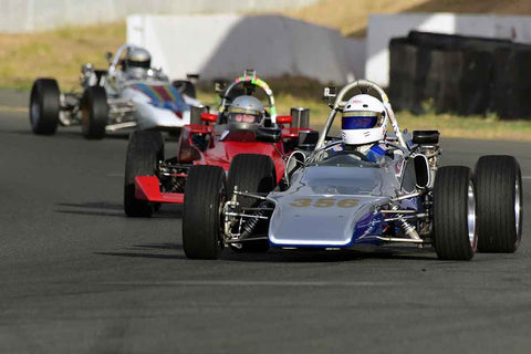 Dick Scariano - 1971 Winkelmann FSV 1 in Group 5 - Formula Junior, Formula Vee, Formula B Open Wheel Cars at the 2018 CSRG Charity Challenge run at Sears Point Raceway