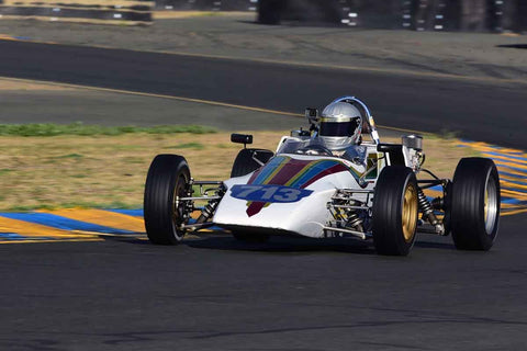 Jamey Schuler - 1973 Tui BH3 in Group 5 - Formula Junior, Formula Vee, Formula B Open Wheel Cars at the 2018 CSRG Charity Challenge run at Sears Point Raceway