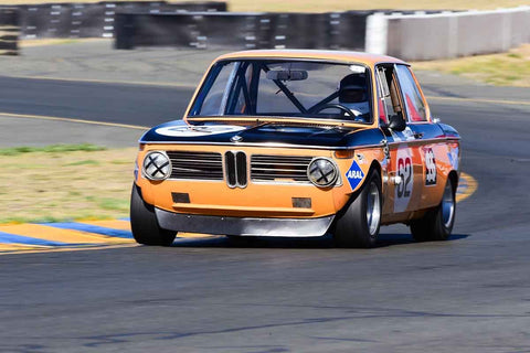 Terry Forland - 1968 BMW 2002 in Group 8 - SCCA Trans-Am, A, B & C Sedan & IMSA GTU & GTO Cars at the 2018 CSRG Charity Challenge run at Sears Point Raceway