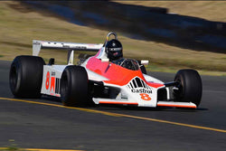 Sean Allen - 1980 McLaren M30 in Group 9 - Masters USA Historic Grand Prix at the 2018 CSRG Charity Challenge run at Sears Point Raceway