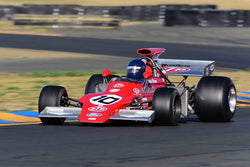 Steve Cook - 1972 March 72G in Group 9 - Masters USA Historic Grand Prix at the 2018 CSRG Charity Challenge run at Sears Point Raceway