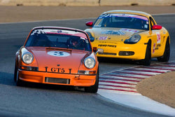 Scott Plunkett - 1990 Porsche 911 in Group 1 - PCA Sholar-Friedman Cup for Porsche Club of America race cars at the 2018 Porsche Rennsport Reunion VI run at WeatherTech Raceway Laguna Seca